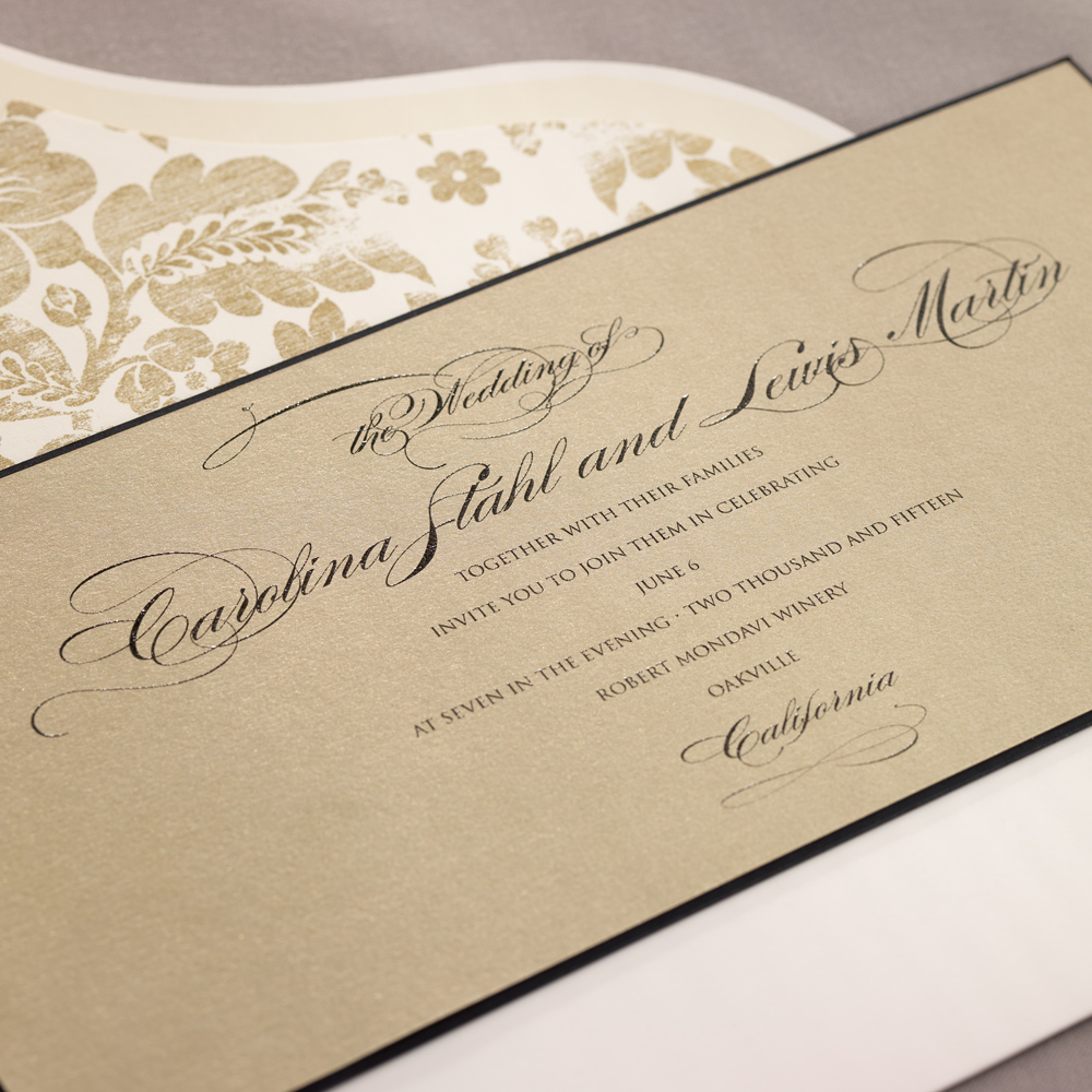 wedding invitations houston tx isabella - Wedding Invitations Houston