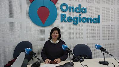 Dra. Mª Nieves Martínez-Hidalgo en Onda Regional de Murcia