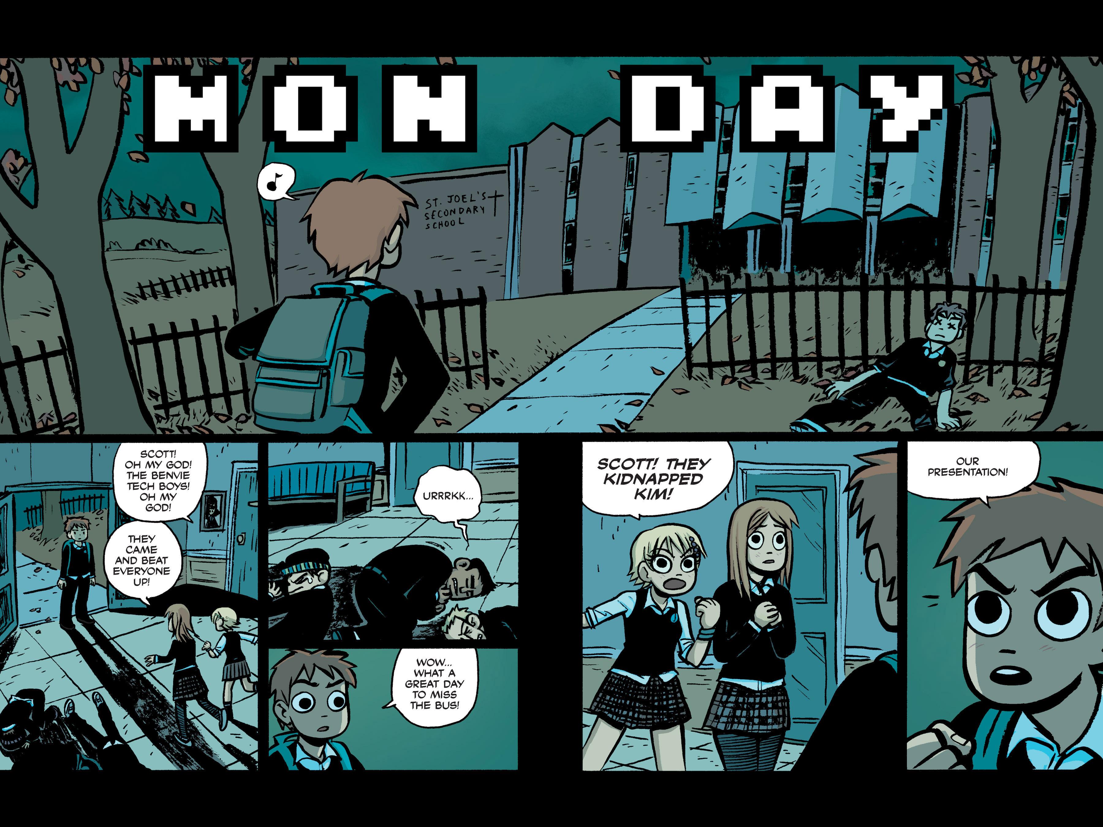 Read online Scott Pilgrim comic -  Issue #2 - 22