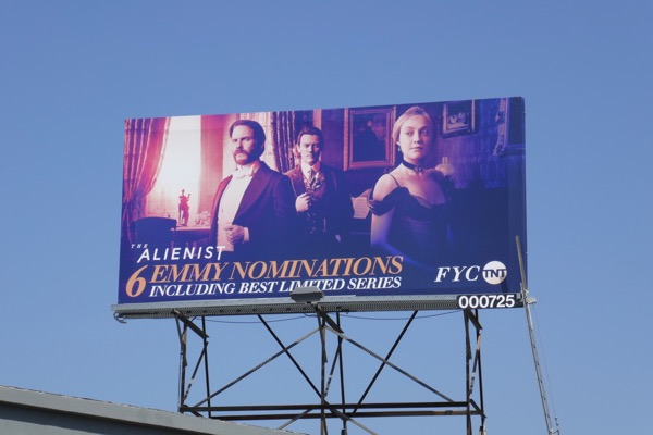Alienist 6 Emmy nominations billboard