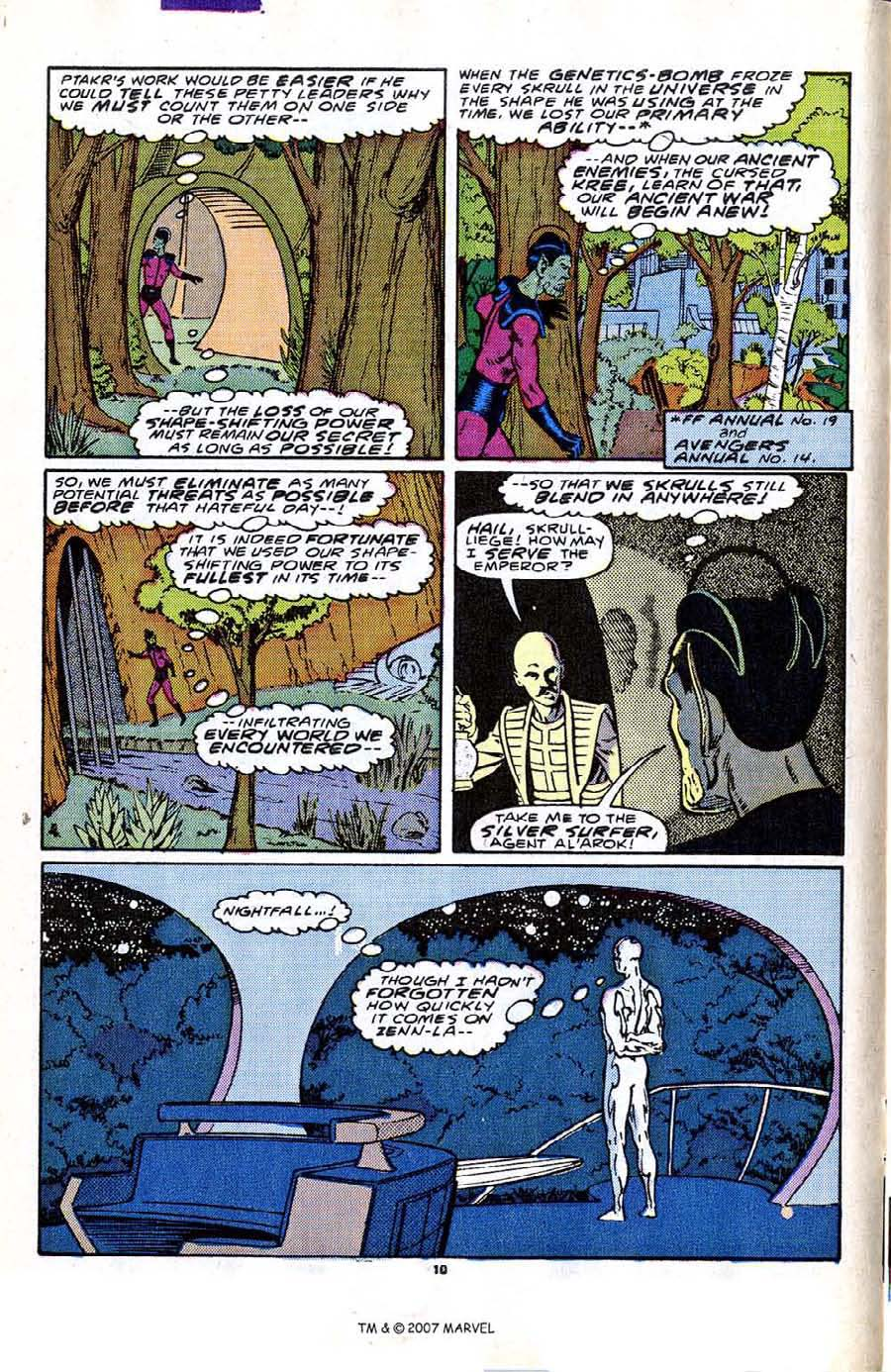 Read online Silver Surfer (1987) comic -  Issue #2 - 16