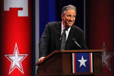 At least Jon Stewart was funy