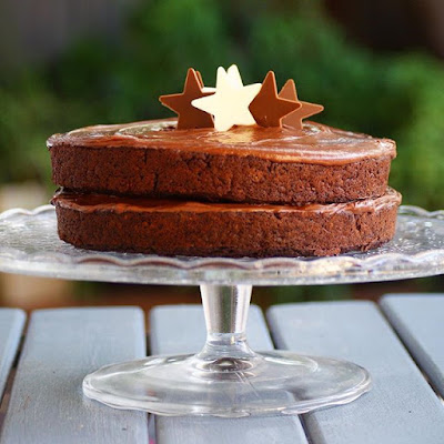 Healthy Double Chocolate Cake Recipe for Birthday Celebrations