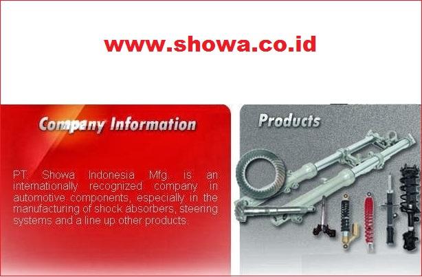 LOWONGAN BULAN MEI 2017 PT SHOWA MANUFACTURING INDONESIA Operator Produksi