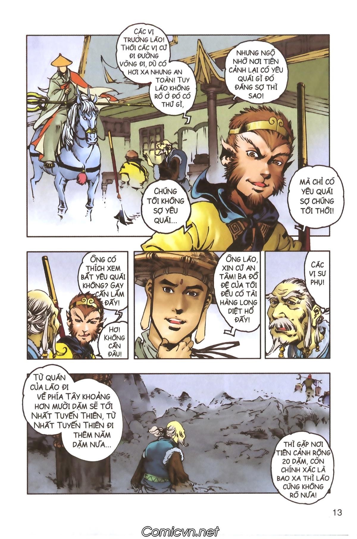 Tây Du Ký màu - Chapter 114 - Pic 11