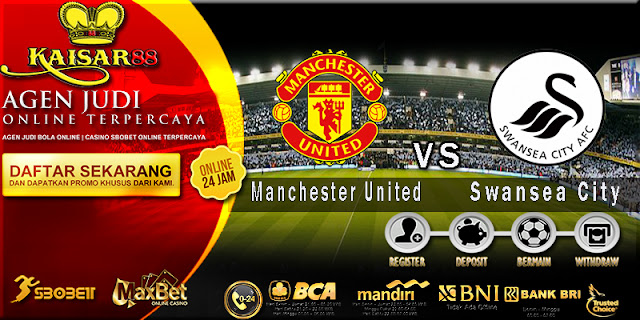 Prediksi Bola Jitu Manchester United vs Swansea City 31 Maret 2018