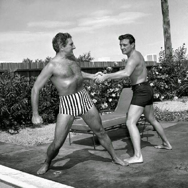 Rock hudson blowjobs the