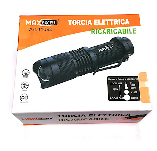 maxexcell led torcia elettrica