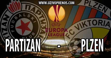 Liga Evrope: Partizan - Viktoria Plzen UŽIVO PRENOS
