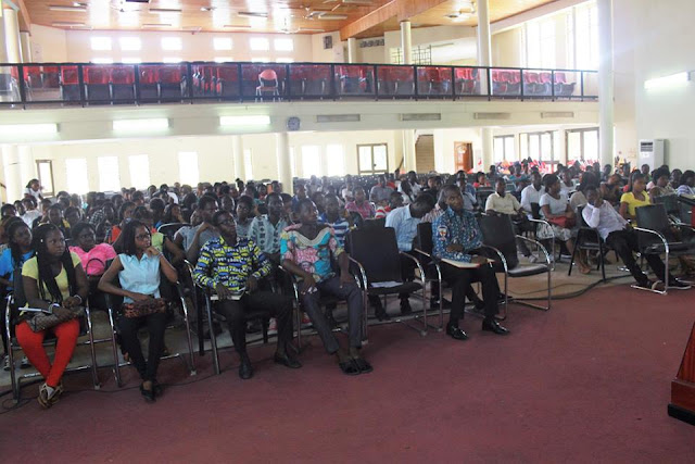 Pentecost university college (PUC) officially welcomes fresh students.