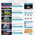 Mathew Premium template hỗ trợ 2 banner quảng cáo đầu trang