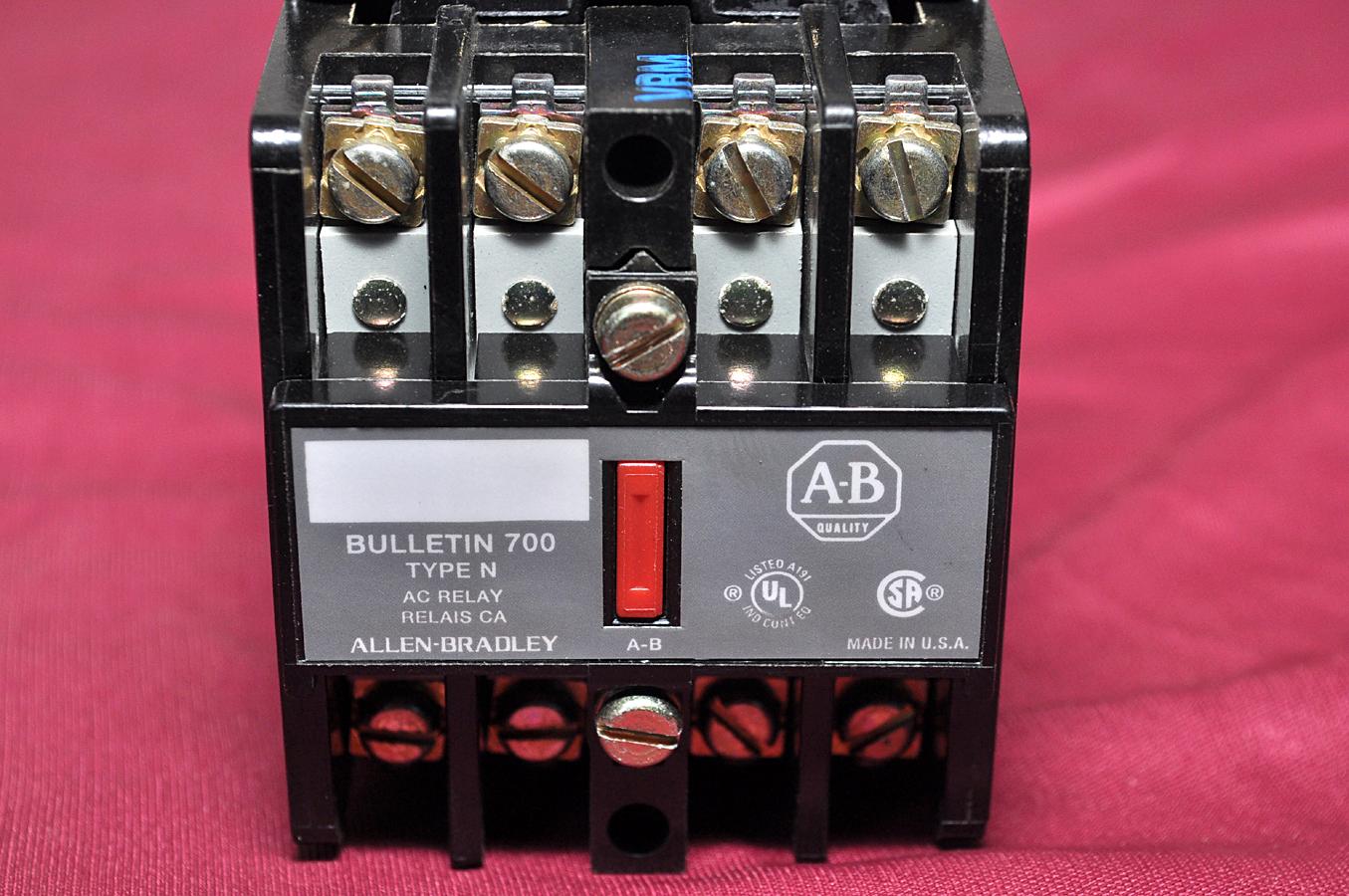 Aeliya Marine Tech Pvt Ltd | ALLEN-BRADLEY CONTROL RELAY 700-N400A1