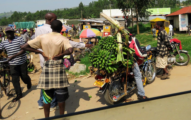 Matoke market in Uganda