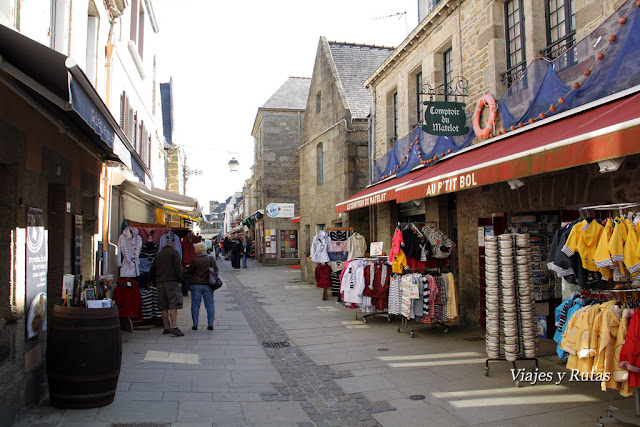 Rue Vauban, Concarneau, Bretaña