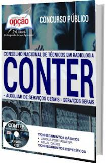 Apostila Conter/CRTR 2017 Auxiliar de Serviços Gerais e Serviços Gerais