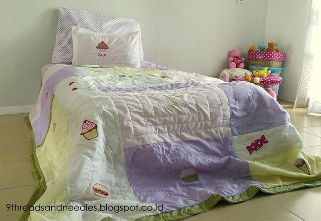 duvet cover with applique diy