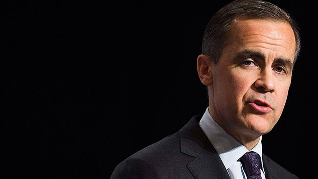 Bank of England Governor Mark Carney says UK's economic outlook 'deteriorated' due to Brexit