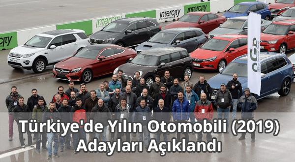 Türkiye'de Yılın Otomobili (2019) Adayları