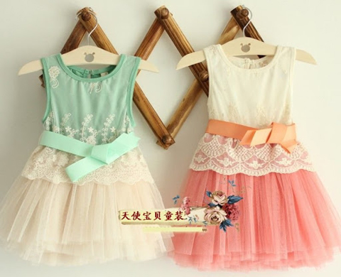 baju dress anak import