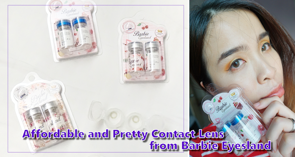 Affordable and Pretty Contact Lens from Barbie Eyesland