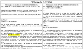 Propaganda Eleitoral - Res. TSE 23.551/17