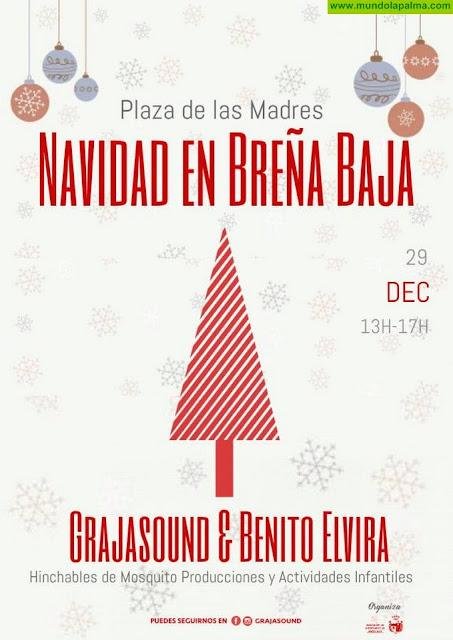 BREÑA BAJA NAVIDAD: Grajasound & Benito Elvira