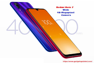 Redmi Note 7 With 48-Megapixel Camera