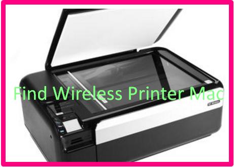 Find Wireless Printer Mac