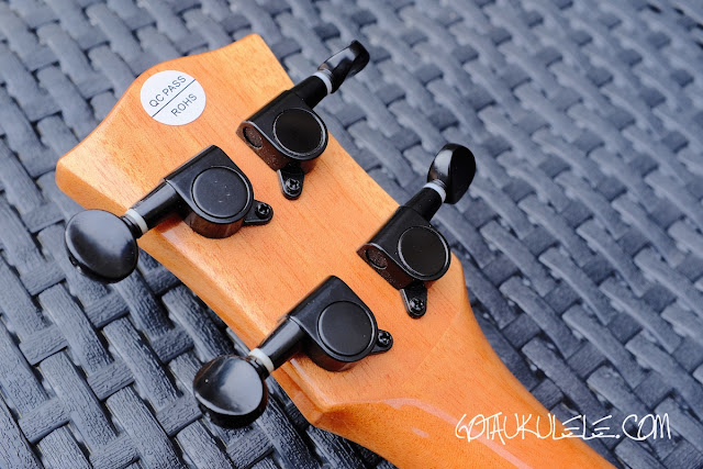 World of Ukes Eden Origin Tenor Ukulele tuners