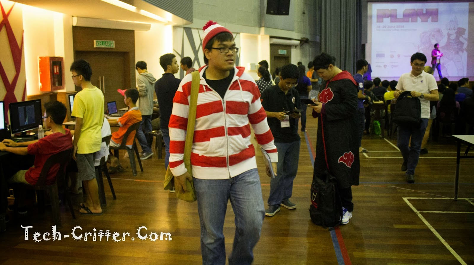 Coverage of PLAY! Convention @ KDU College 192
