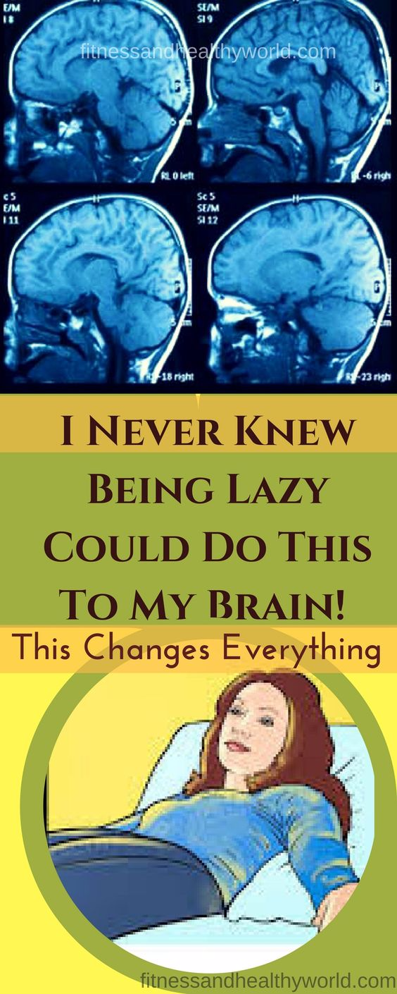 I NEVER KNEW BEING LAZY COULD DO THIS TO MY BRAIN! THIS CHANGES EVERYTHING