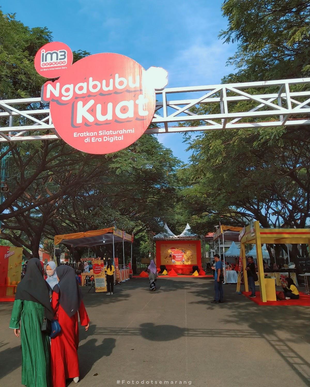 #NgabuburitKuat di Semarang, IM3 Ooredoo Bawa Anisa Rahma Berbagi Tentang Menjadi Konten Kreator