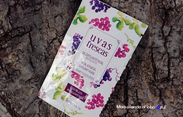 Exfoliante facial Revitalizante de Uvas Frescas