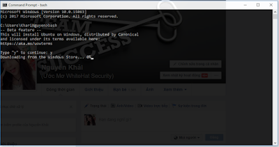 Hướng dẫn cài đặt Bash Ubuntu trên Windows 10
