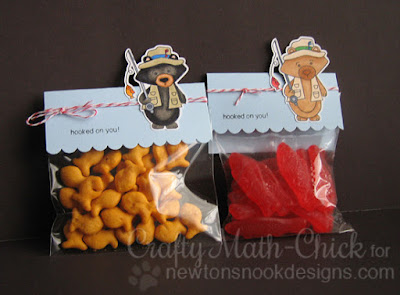 Winston's Fisherman Valentine Treats by Crafty Math Chick | Campfire Tails by Newton's Nook Designs
