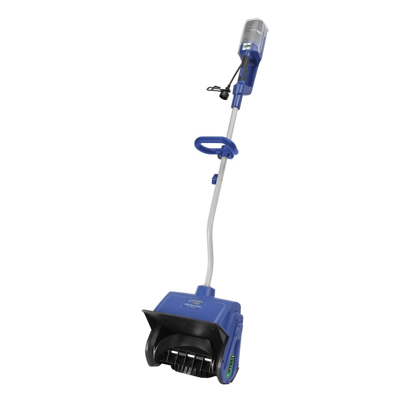 Snow Joe Ion13ss Hyb Hybrid Cordless Rechargeable Battery Electric Ed Shovel