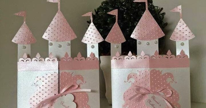 Diy Castle Shaped Invitation Or Card With Template Oh