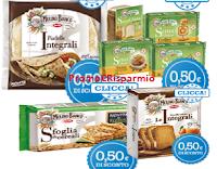 Logo Coupon Mulino Bianco: Piadelle, Crackers, Fette Biscottate e Gamma senza glutine