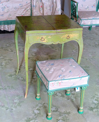 Lady's dressing table and stool, Nostell Priory