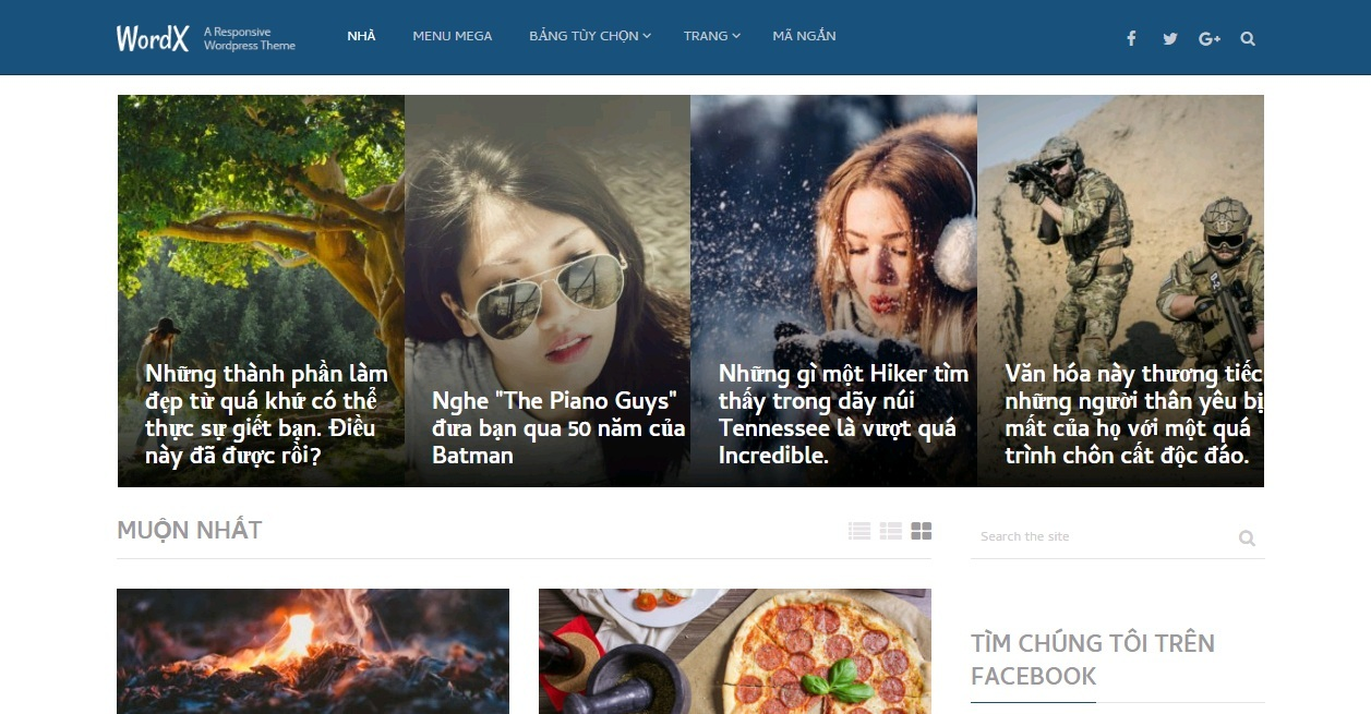 WordX  WordPress Theme For Blogs and Online Magazines
