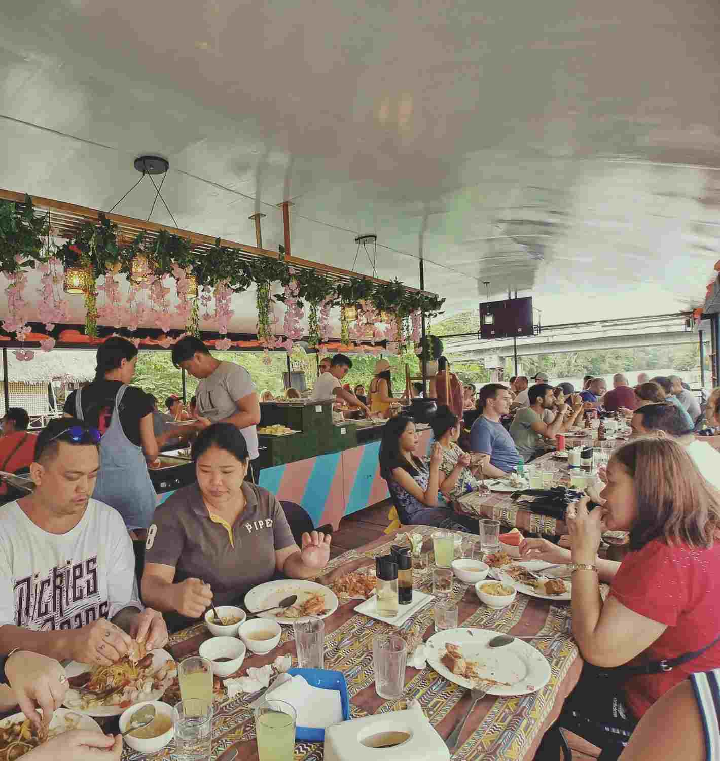 Loboc River cruise buffet lunch