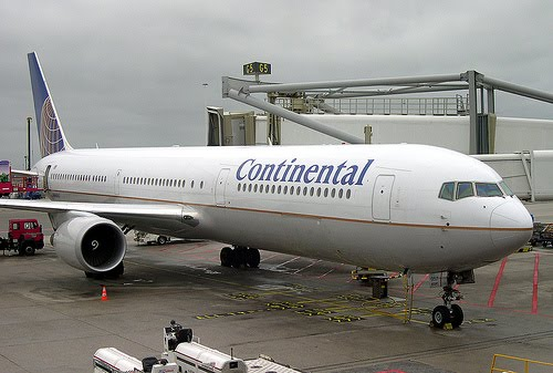 World Famous Air Crafts: Continental Airlines