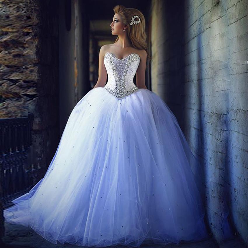 Corset Beaded Cinderella Bridal Wedding Gowns   Bridal Wedding Ideas