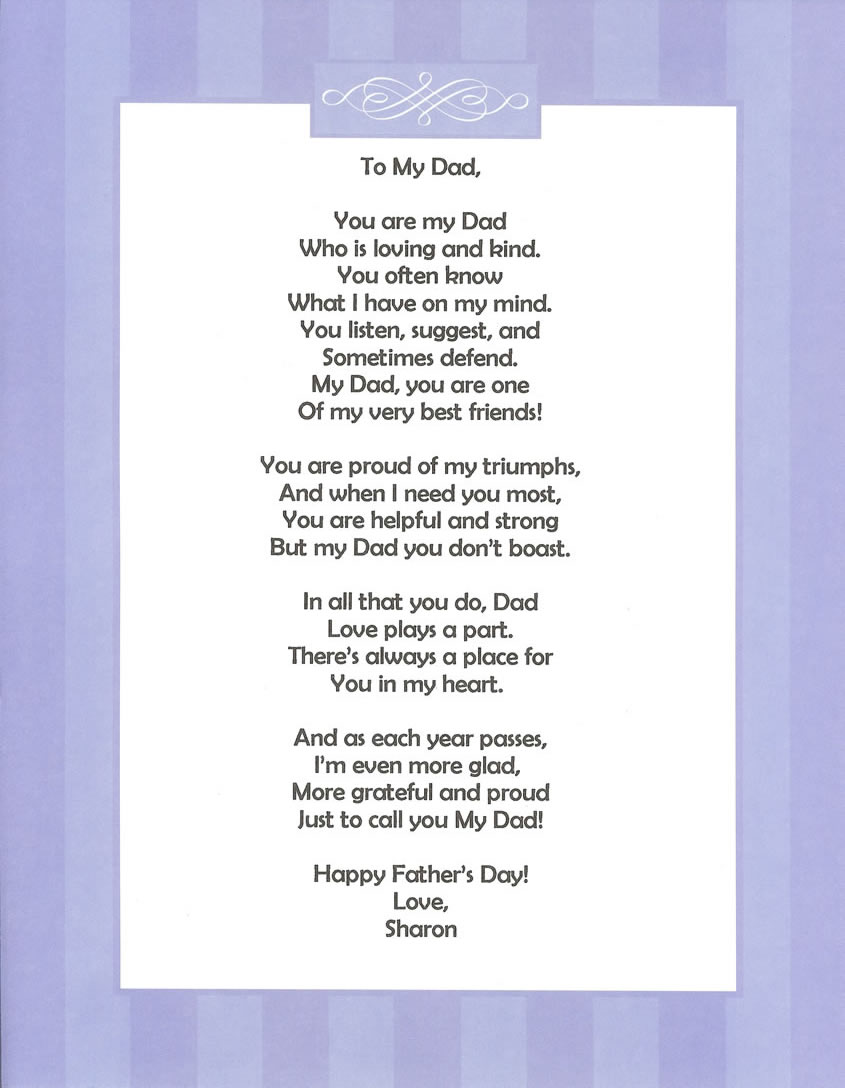 Image result for father's day poems