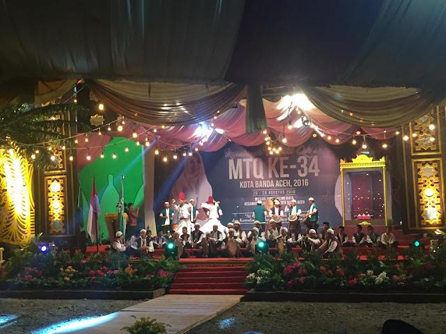 Wakil Walikota Banda Aceh Buka MTQ ke 34