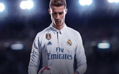 FIFA 18 Cristiano Ronaldo - Fond d'écran en Ultra HD 4k 2160p