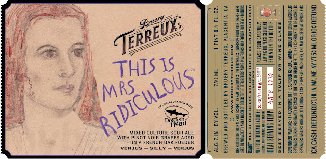 Bruery Terreux & Dogfish Head Collaborate On This is Ridiculous, This Is Mrs Ridiculous & Kisses Betwixt Mr & Mrs This Is Ridiculous