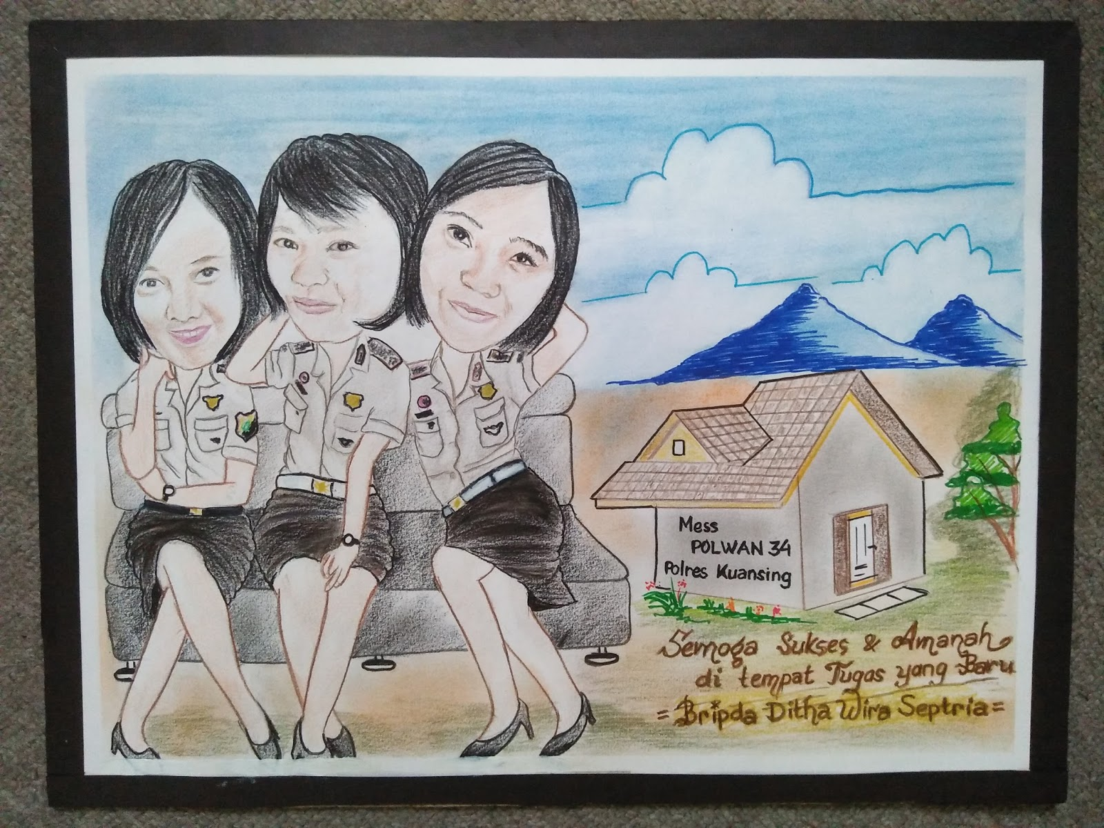 Kumpulan Gambar Karikatur Polisi Dan Bhayangkari