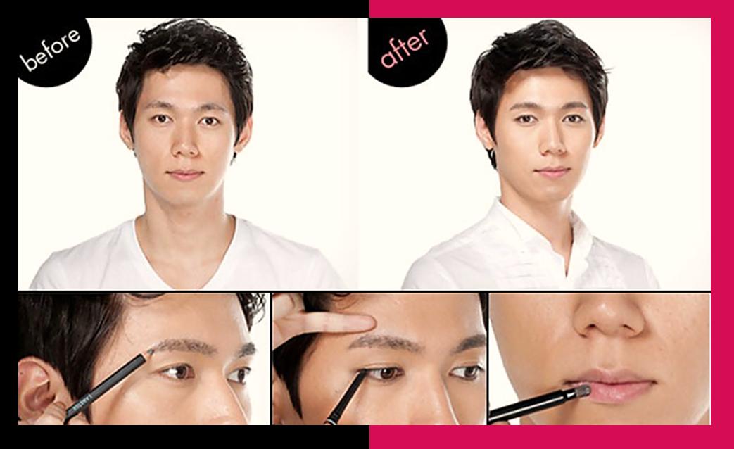 si existe el maquillaje para hombres es muy comn en pases asiticos por ejemplo en korea compaas de cosmticos coreanas de han hecho sus lneas homme