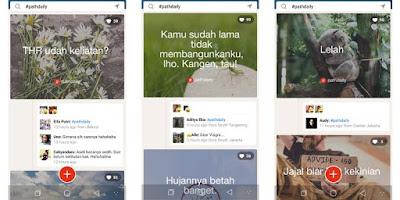 Cara Membuat Postingan #PathDaily